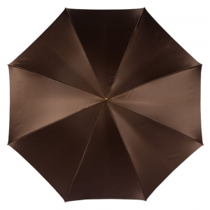 Зонт-трость Pasotti Marrone Fern Pelle фото-2