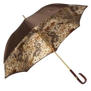 Зонт-трость Pasotti Marrone Novita Plastica Fiore фото-5