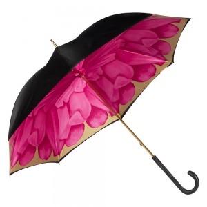 Зонт-трость Pasotti Nero Georgin Rosa Original фото-3