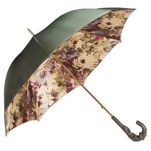 Зонт-трость Pasotti Oliva Fiore Pelle фото-5