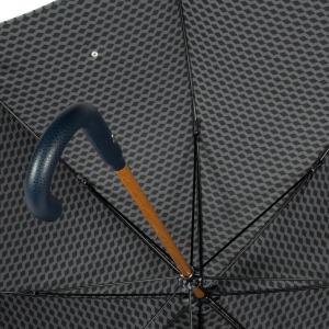 Зонт-трость Pasotti Pelle/Legno Atene Blu фото-3
