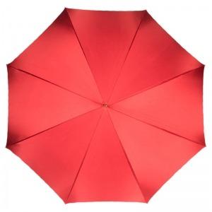 Зонт-трость Pasotti Rosso Georgin Pelle фото-2