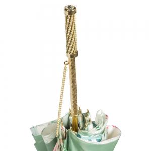 Зонт-трость Pasotti Verde Ninfea Strass фото-4
