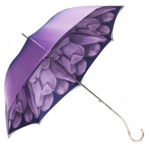 Зонт-трость Pasotti Viola Georgin Nickel фото-5