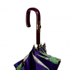 Зонт-Трость Pasotti Viola Tropical Plastica Fiore фото-4