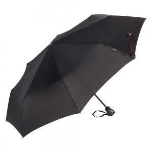 Зонт складной Bugatti 74666-OC Carbon Black фото-2