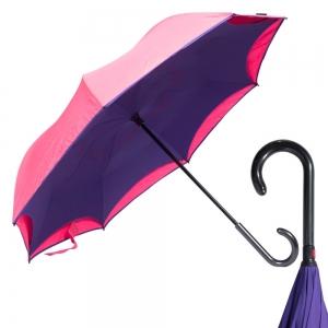 Зонт-Трость Emme M429-LM Reverso Neon Pink фото-5