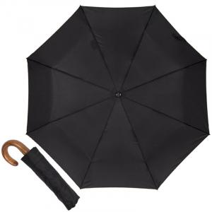Зонт складной Guy de Jean 3500-AU Homme Noir фото-1