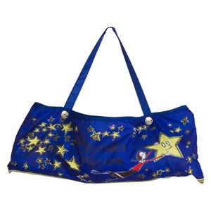 Зонт складной Moschino 7036-OCF Olivia Stars Blue фото-5