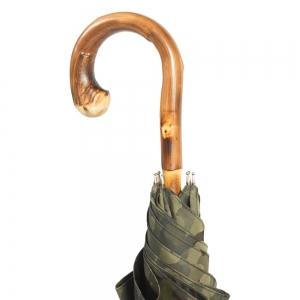 Зонт-трость Pasotti Chestnut Militari Verde  фото-5