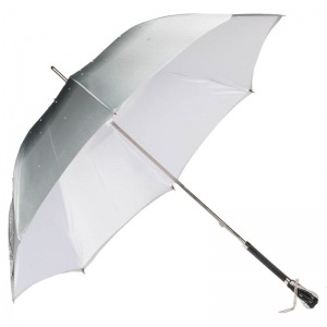 Зонт-трость Pasotti Swarovski Grigio фото-7