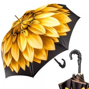 Зонт-трость Pasotti Anzi Georgin Giallo Pelle фото-1