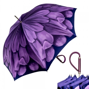 Зонт-трость Pasotti Anzi Georgin Viola Plastica фото-1