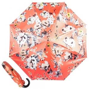 Зонт складной Pasotti Manual Ticolori Coral Pelle фото-1