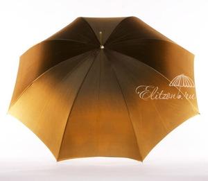 Зонт-трость Pasotti Bicolore Georgin Giallo Oro фото-6