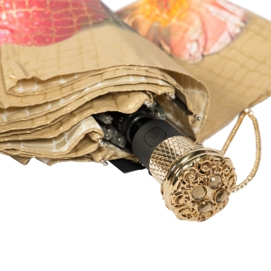 Зонт складной Pasotti Auto Pazzle Sand Lux фото-3