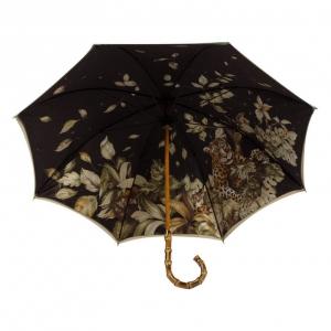 Зонт-Трость Pasotti Oliva Leoparde Bamboo фото-6