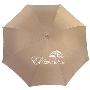 Зонт-трость Pasotti Sand Pois Pelle  фото-2