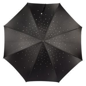 Зонт-трость Pasotti Swarovski Black фото-5