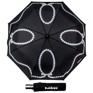 Зонт складной Baldinini 33-OC Perle Black фото-1