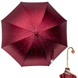 Зонт-трость Pasotti Swarovski Bordo  фото-2