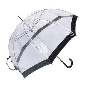 Зонт-трость M&P C4700-LM Transparent Black фото-2