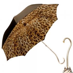 Зонт-трость Pasotti Morrone Leo Oro фото-1