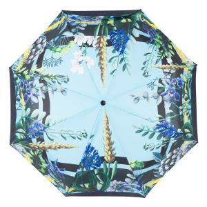 Зонт складной Ferre 6002-OC Flowers Blu фото-3