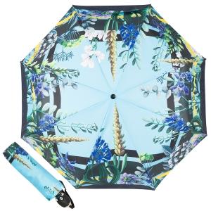 Зонт складной Ferre 6002-OC Flowers Blu фото-1