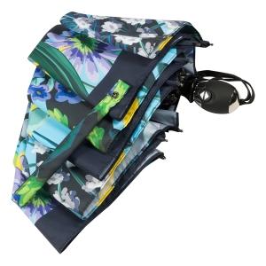 Зонт складной Ferre 6002-OC Flowers Blu фото-4