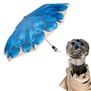 Зонт складной Pasotti Auto Georgin Blu LUX  фото-1