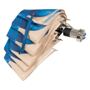 Зонт складной Pasotti Auto Georgin Blu LUX  фото-4