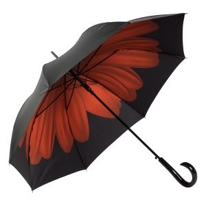 Зонт-трость Pierre Cardin 82451-LA Gerbera Black фото-2