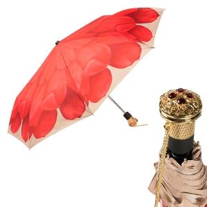 Зонт складной Pasotti Auto Georgin Coral Lux фото-1