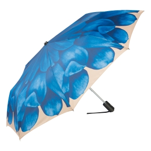 Зонт складной Pasotti Mini Georgin Blu фото-2