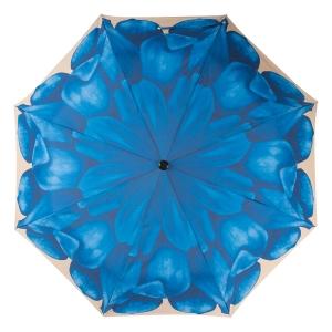 Зонт складной Pasotti Mini Georgin Blu фото-3