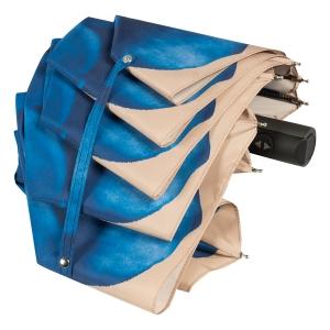 Зонт складной Pasotti Mini Georgin Blu фото-4