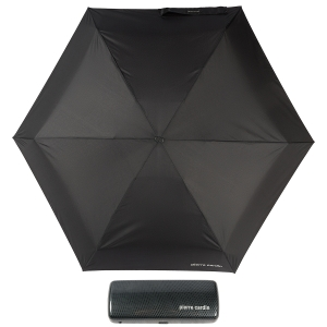 Зонт складной Pierre Cardin 83701-OM Supermini Flat  Black фото-1
