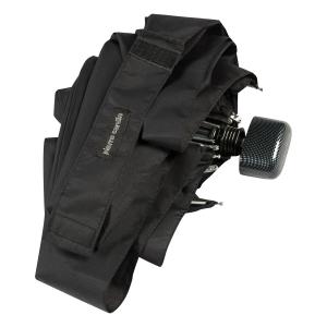 Зонт складной Pierre Cardin 83701-OM Supermini Flat  Black фото-4