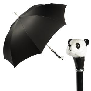 Зонт-трость Pasotti Oxford Panda Lux фото-1