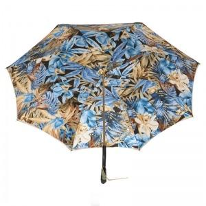 Зонт-трость Pasotti Oliva Blue Belezza Swarovski фото-4