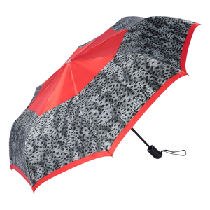 Зонт складной Baldinini 22-OC Tigratto Grey фото-2