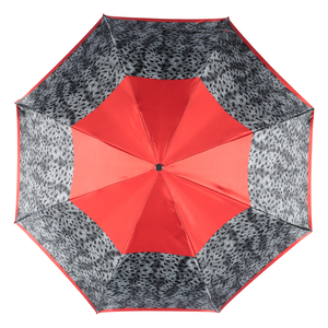 Зонт складной Baldinini 22-OC Tigratto Grey фото-3