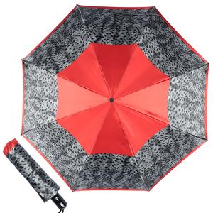 Зонт складной Baldinini 22-OC Tigratto Grey фото-1