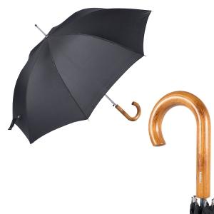 Зонт-трость Baldinini 740163-LA Legno Classic Black фото-1