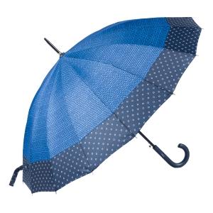 Зонт-трость Ferre402-LA  Arlekino Dots Blu фото-2