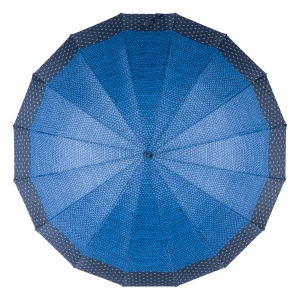 Зонт-трость Ferre402-LA  Arlekino Dots Blu фото-3