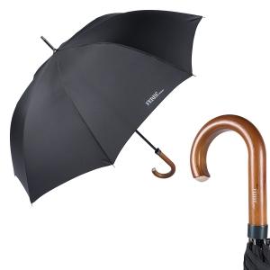 Зонт-трость Ferre 123-LA Legno Black фото-1