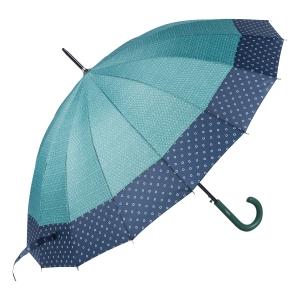 Зонт-трость Ferre 402-LA  Arlekino Dots Green фото-2