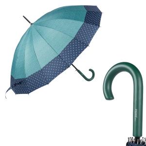 Зонт-трость Ferre 402-LA  Arlekino Dots Green фото-1